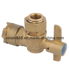 Lockable Brass Angle Ball Valve