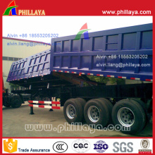 Double-Boxed Side und End Dump Kipper Semi Trailer