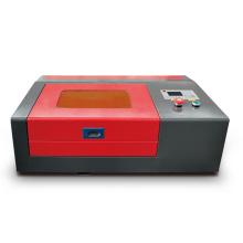 Small desktop cheap rubber stamp making machine/stamp maker laser ingraver cutter 40/50w 3020/4040 Ruida offline/M2 controller