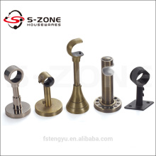 decorative metal curtain rod bracket good selling