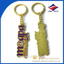 Kundenspezifische Zink-Legierung mit Buchstabe PA keychain