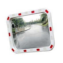 Hot Selling Road Safety Reflective Square Rectangular Convex Mirror, Acrylic Reflective Convex and Concave Mirror/