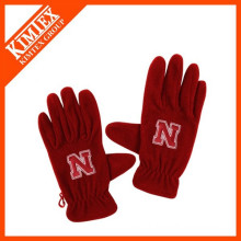 wholesale custom winter polar fleece gloves