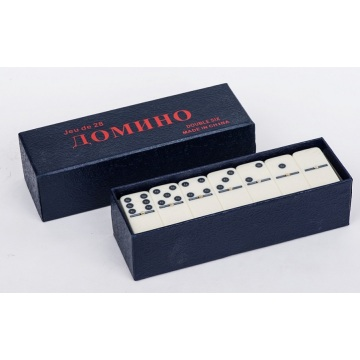 Colorful Dominoes Game In Color Box