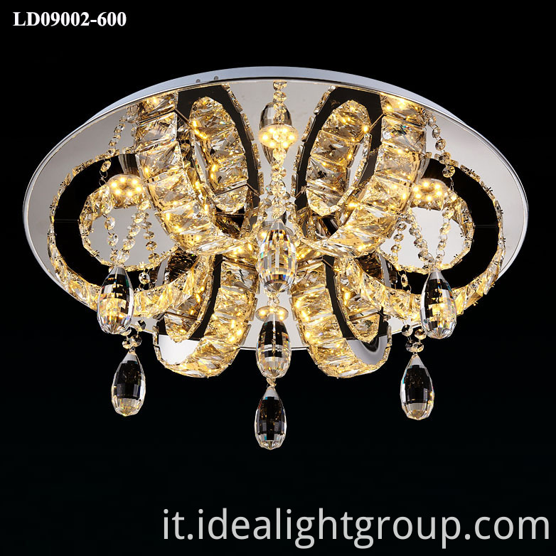 chandelier ceiling crystal lamp