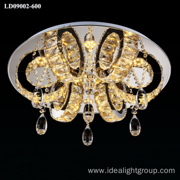 LED modern chandelier ceiling crystal lamp