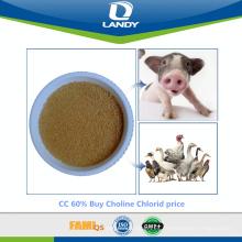 CC 60% Comprar Choline Chlorid price