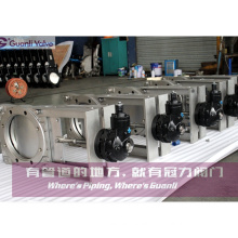 OEM Stainless Steel Ductile Iron Slurry Knife Gate Valve