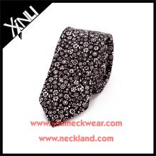 Cravate imprimée par polyester floral faite sur commande de 2015 nouveaux hommes de mode
