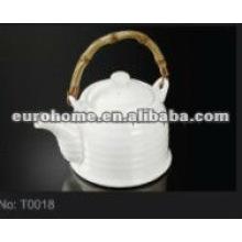 Hotel liefert Geschirr Porzellan Teekanne (Nr. T0018)