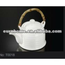 hotel supplies crockery porcelain tea pot (NO. T0018)