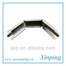 Угловой металлический держатель с никелевым покрытием