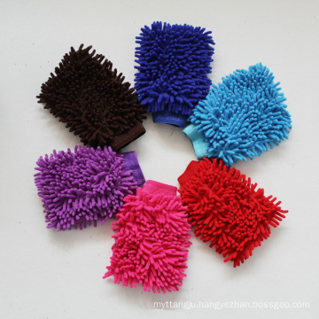 Auto Care Car Microfiber Chenille Wash Mitt Cleaning Washing Mitt Glove