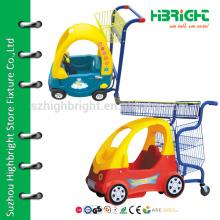 Carrinho de compras para crianças com carrinho de bebê