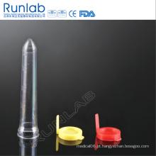 Tubo de urina PS de 12 ml com tubo de sedimento