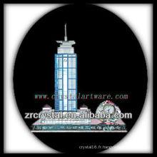 Magnifique bâtiment en cristal modèle H035