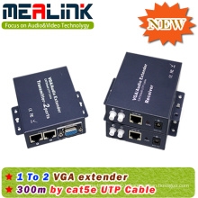 300m Over RJ45/Cat5e/6 1X2 VGA Extender (YL3502)