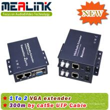 300 m de extensão extensor VGA RJ45 / Cat5e / 6 1X2 (YL3502)