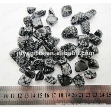 Snow Flake tumbled stone,high polish
