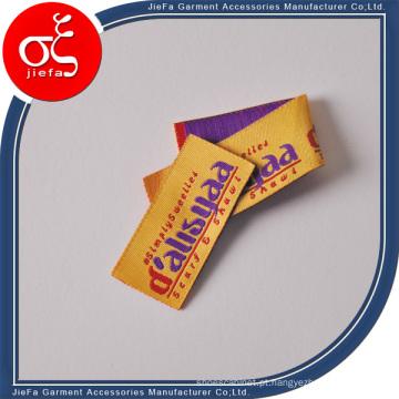 Fabricado na China, fabricante de etiquetas tecidas