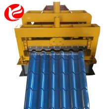 Roofing panel glazed tile roll forming making machine