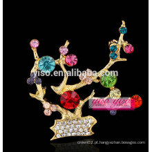 China tradicional inverno doce broche de cristal de flores