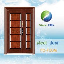 China Neueste Entwicklung und Design Einzel Stahl Sicherheitstür (FD-F20M)