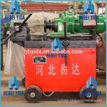 Rebar rib peeling and thread rolling machine for construction