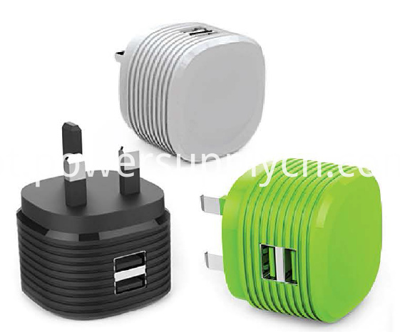 5V2.4A UK plug USB phone charger