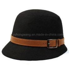 Sombrero hermoso de Fedora del caballero, gorra de béisbol de los deportes