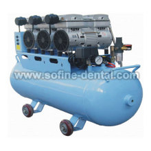 Silent Noiseless & Oilless Dental Air Compressor