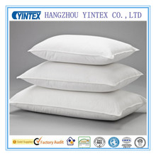 100% Cotton 10% White Duck Down 90% Feather Hotel Pillow