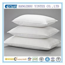 100% algodão 10% pato branco para baixo 90% penas hotel travesseiro