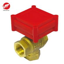 2-Wege-Automatik-Kugelwasser mit pneumatischem Proportional-Regelventil