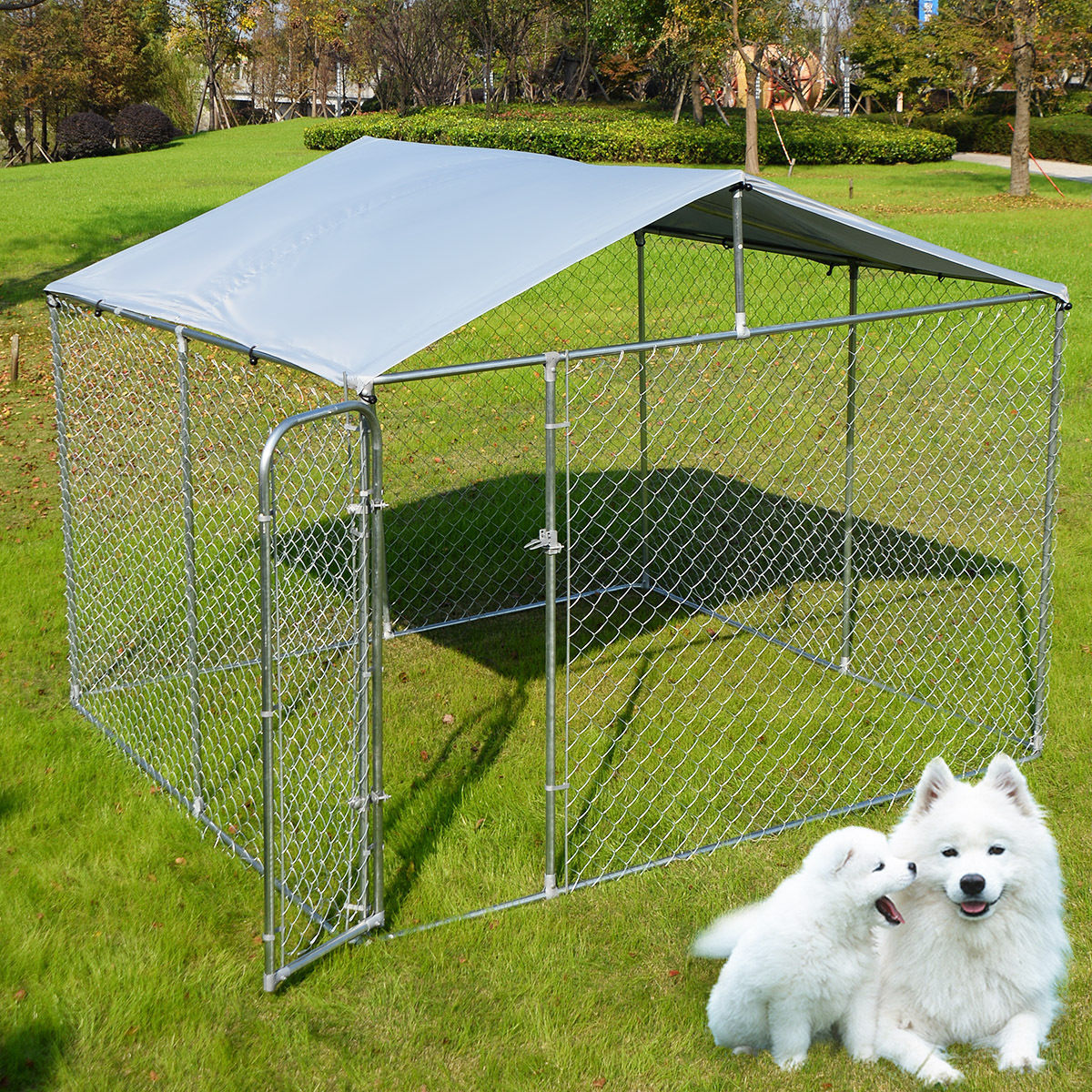 Dog Modular Chain Link Pet Kennel