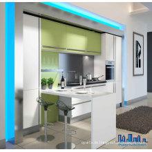 Shining White Lack Moderne Küchenschränke