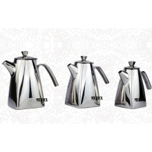 Stainless Steel Teapot with Cover