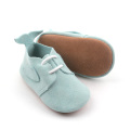 Fancy Cantik Ikan Tail Baby Leather Oxford Shoes
