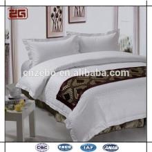 Пятизвездочный отель 100% текстильный полиэфирный кровать шарф