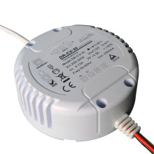 conducteur rond dimmable rond de 12watt 12volt