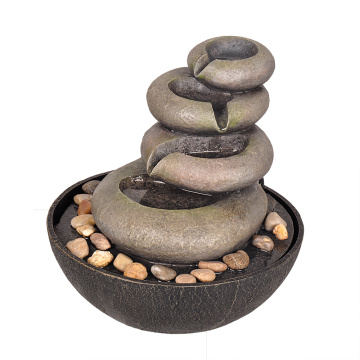 Best Price on for Tabletop Fountain Table Fountain  Wired Grind Stones supply to Poland Manufacturer