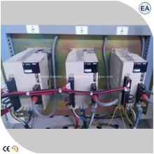 Máquina de puncionar e cisalhar barramentos com controlador CNC