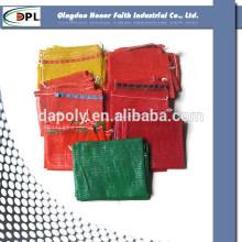 ex-factory price competitive price customize pp plastic scrap mesh bag