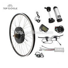 wholesale 26'' front and rear wheel part electric bike conversion kit 36V 350W Ebike kit