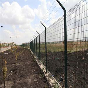 Galvanzied Curvy Fence-2