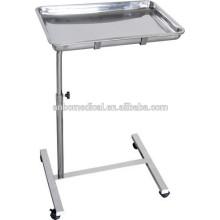 Hochwertige SS. Mobile Krankenhaus chirurgische Instrumente Tray Trolley zum Verkauf