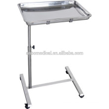 High Quality SS. Mobile hospital surgical Instruments Tray trolley for sale