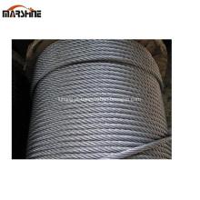 7x19 7x7 galvanizado corda de fio de aço