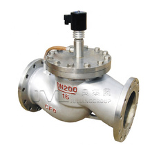 timer Threaded Flange Steam Thermal oil high temperature solenoid valve