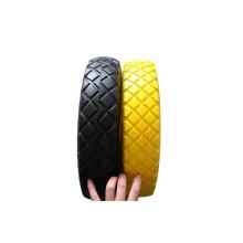 Solide pneu, pneu de mousse d'unité centrale, roue pleine, roue de mousse d'unité centrale 400-8